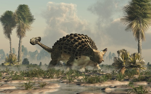 Dinosaurus minigolf