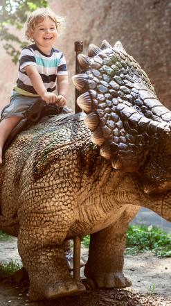 Parkranger worden in het Dino Experience Park