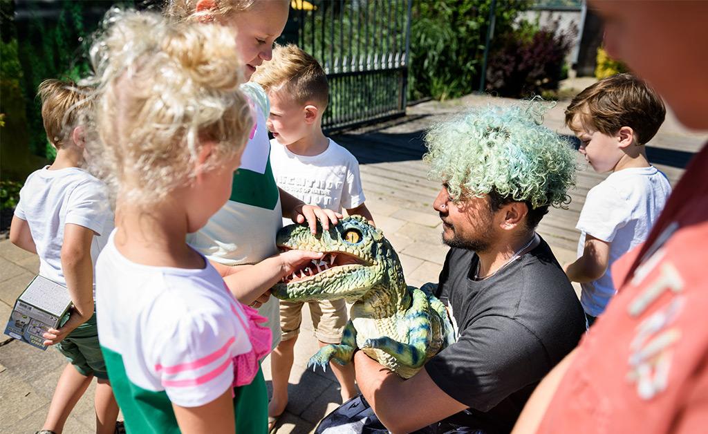 dino experience park kinderfeestje